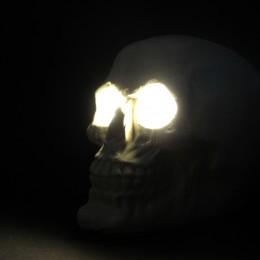 Фото Череп лампа Хоррор