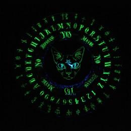 Фото Доска ведьмы Кошка сфинкс светящаяся в темноте