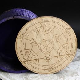 Фото Шкатулка для украшений Алхимический круг