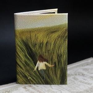 Фото Обложка на паспорт Лето. Девушка в поле