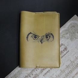 Фото Обложка на паспорт Глаза совы