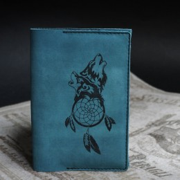 Фото Обложка на паспорт Волки и ловец снов