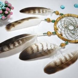 Фото Ловец снов с перьями орла Себек
