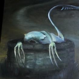 Фото Существо из колодца