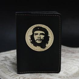Фото Чёрная обложка на паспорт Че Гевара