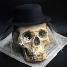 Фото Череп в шляпе Карл