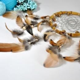 Фото Ловец снов с натуральными перьями
