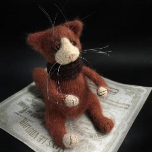 Фото Авторская игрушка Рыжий кот