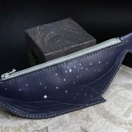 Фото Пенал Синий кит