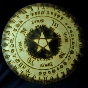 Фото Доска ведьмы Пентаграмма