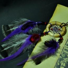 Фото Маленький ловец снов фиолетовый
