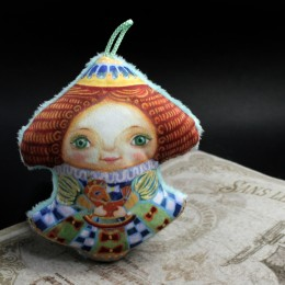 Фото Ёлочная игрушка Мари (Щелкунчик)