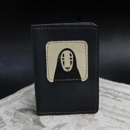 Фото Чёрная обложка на паспорт Безликий