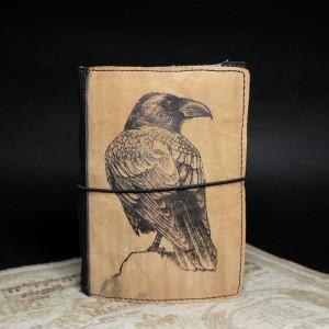 Фото Блокнот Чёрный ворон