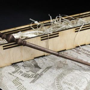 Фото Волшебная палочка Минервы Макгонагалл из дерева ручная работа