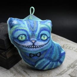 Фото Ёлочная игрушка Чеширский кот