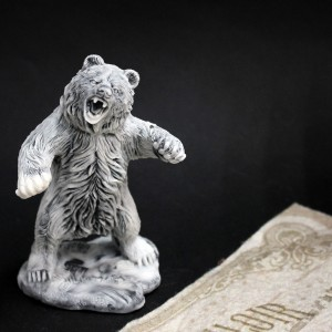 Фото Фигурка Медведь в ярости