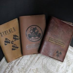 Фото обложка на паспорт Сталкер радиация