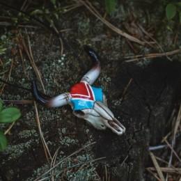 Фото череп быка кулон