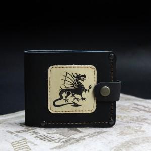 Фото Кошелёк чёрный Дракон Валлийский
