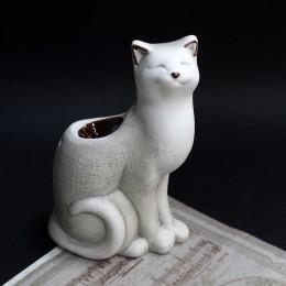 Фото Аромалампа белый кот