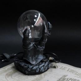 Фото Плазменный шар ночник Призрачная рука