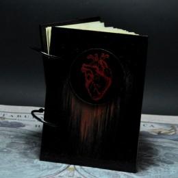 Фото Блокнот для эскизов средний Анатомическое сердце