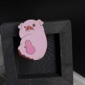 Фото Брошка Свинка Пухля
