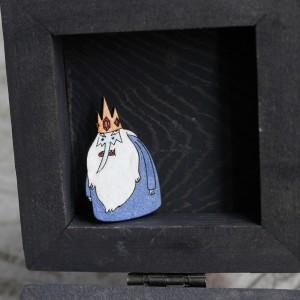 Фото Брошка Ледяной король Время приключений