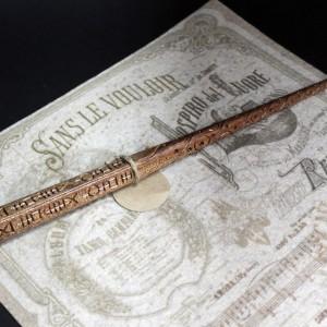 Фото Волшебная палочка Сириуса Блэка из дерева ручной работы
