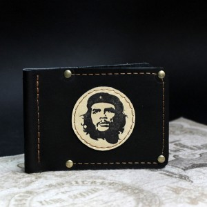 фото Зажим для денег чёрный Че Гевара