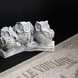 Фото Статуэтка Три совы