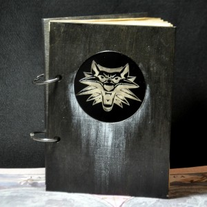 Фото Блокнот для эскизов Ведьмак