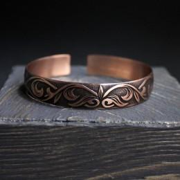 Фото Браслет незамкнутое кольцо медный Сказка