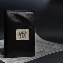 Тёмная обложка на паспорт Африка