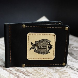 фото Зажим для денег Рыба