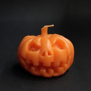 Фото Свеча Тыква Хэллоуин (оранжевая)
