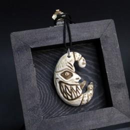 Фото Подвеска из кости Тёмный месяц
