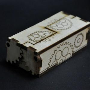 Фото Коробочка для украшений Стимпанк