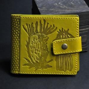 Фото Кошелёк жёлтый Чертополох кошелёк
