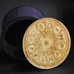 Фото Шкатулка-коробка круглая Зодиак