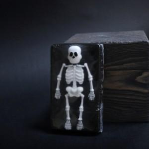 Фото Мыло сувенирное Скелет (прямоугольник)