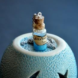Фото Кулон-бутылочка Душа русалки