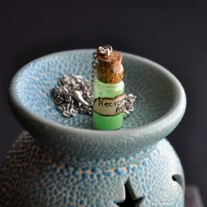 Фото Кулон-бутылочка Прах некроманта