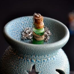 Фото Кулон-бутылочка Болотный дух
