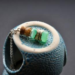 Фото Кулон-бутылочка Слёзы русалки