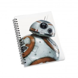 Блокнот в клетку на пружинах Star Wars фото