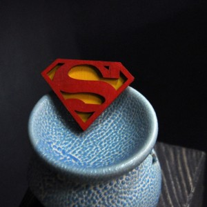 Брошь Супермен фото