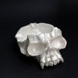 Фото Пепельница череп с клыками