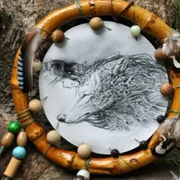 Фото Ловец снов с волком